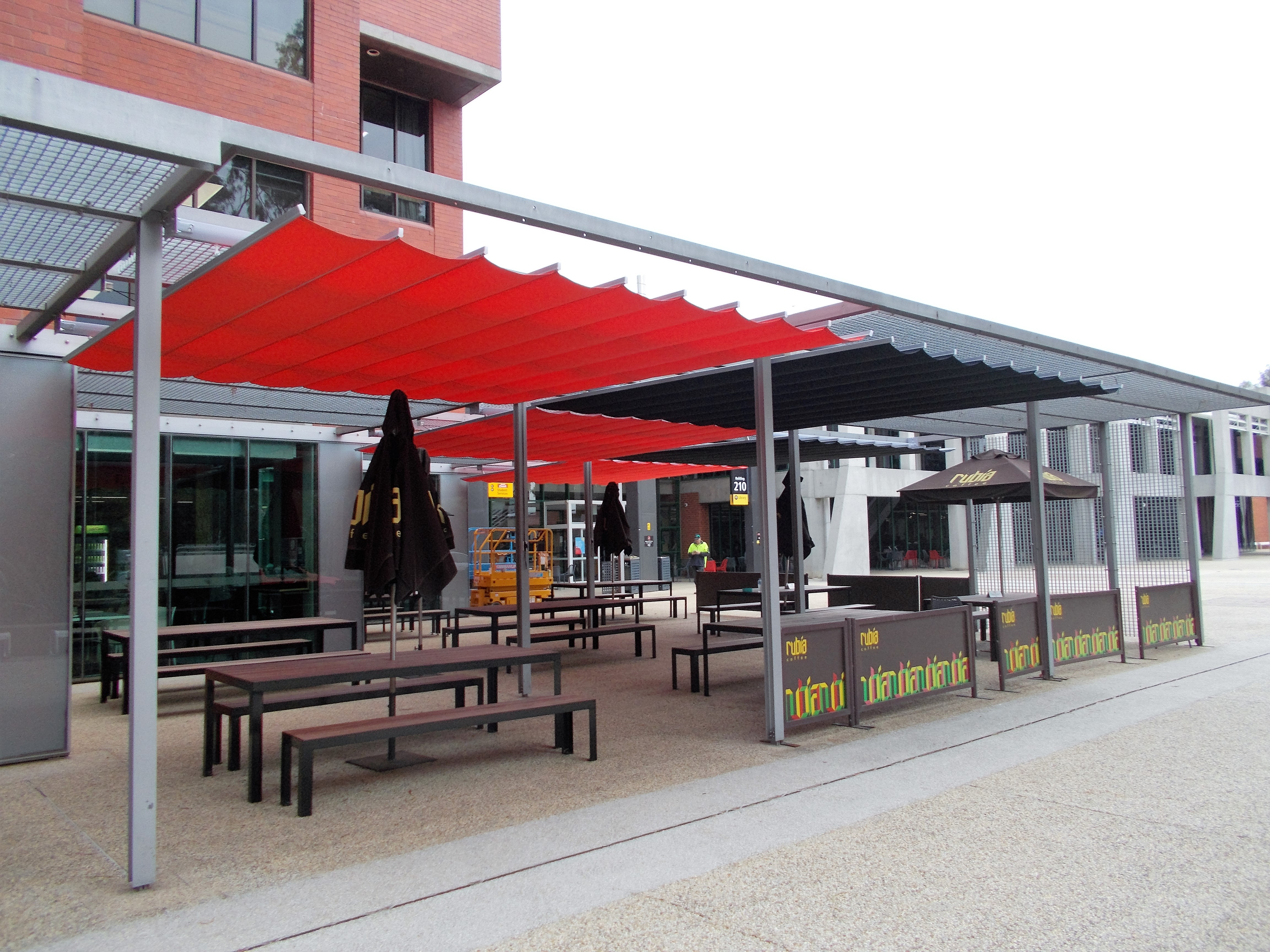 Retractable Patio Shade